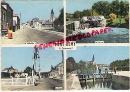 80 - PONT REMY - LA NATIONALE - BARRAGE-GARE- L' ECLUSE - France