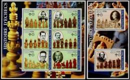 Schach Chess Ajedrez échecs - Benin 2002