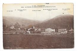 SAINT-PIERRE-LA-BOURLHONNE  (cpsm 63)  Et Les Monts Du Forez  -     - L 1 - France