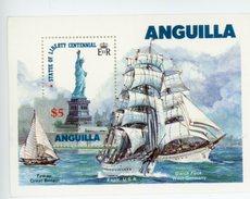 Anguilla 1985-Statut De La Liverté-Voilier-YT B67***MNH