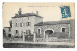 SAINT-REMY-DE-CHARGNAT  (cpa 63)  Maison TOURNEMIRE   -       - L 1 - Altri Comuni