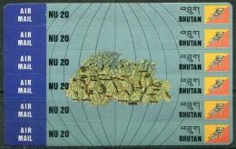Bhoutan 1995  -  Y&T PA 161/166 ** MNH  CV: 10.50 €