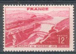 France - 1948 - Barrage De Génissiat - Y&T N° 817 ** Neuf Luxe ( Gomme D´origine Intacte )