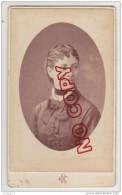 Au Plus Rapide CDV XIX ème Siècle Photographe Chéri Rousseau Marseille St Etienne Portrait Femme - Old (before 1900)