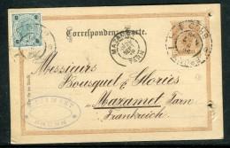 Autriche - Entier Postal De Brünn Pour La France En 1899  Réf O 266