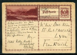 Autriche - Entier Postal De Salzburg Pour La France En 1930  Réf O 267