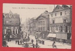 Brive -- Place Et Rue De L Hôtel De Ville - Brive La Gaillarde