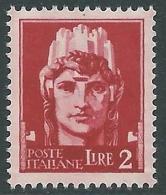 1929-42 REGNO IMPERIALE 2 LIRE MNH ** - CZ33-8 - 1900-44 Victor Emmanuel III