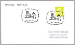 25 Años FUNDACION DE LA U.R.E. (Union De Radioaficionados Españoles) DE LAS PALMAS. Las Palmas, Canarias, 1987