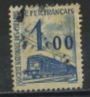 FRANCE -  COLIS POSTAUX 1960 - 1,00 BLEU -  Yt  N°41 OBLI - Colis Postaux