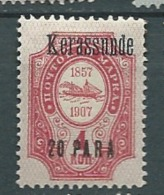 Levant Russie   -  Kerassunde  Yvert N° 92 *  - Ava11210