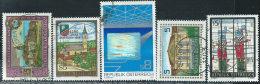 Austria 1988 Usato - Mi.1934/8  Yv.1763/6;1768 - 1945-.... 2a Repubblica