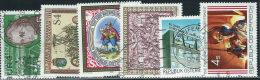 Austria 1986 Usato - Mi.1866;1868/72  Yv.1694;1697/01 - 1945-.... 2a Repubblica