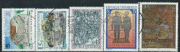 Austria 1987 Usato - Mi.1878/82  Yv.1707/11 - 1945-.... 2a Repubblica