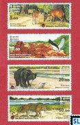 Sri Lanka Stamps 2006, Sloth Bear, Wilpattu National Park, MNH