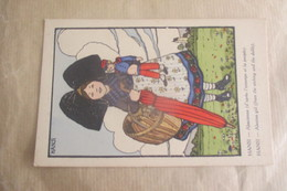 Cpa Hansi Alsace  67 68 - Hansi