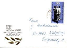 RDA. N°2115 De 1979 Sur Enveloppe Commémorative Ayant Circulé. Mittelbau Dora.