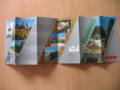 Radenci - Tourism Brochures