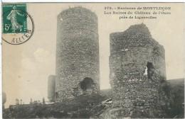 Allier : Montluçon, (Environs), Les Ruines Du Chateau De L'Ours Prés De Lignerolles - Montlucon