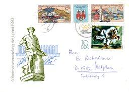 RDA. N°2191A De 1980 Sur Enveloppe Commémorative Ayant Circulé. Exposition Philatélique