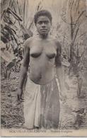 CPA Nouvelle Calédonie Colonies Françaises Nu Féminin Femme Nue Circulé - Nouvelle-Calédonie