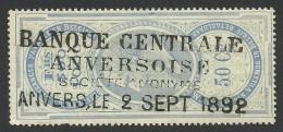 Belgium, Revenue 50 C. 1892 - Revenue Stamps