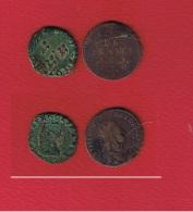 Royales  --  Lot De 2 Monnaies à Identifier - 987-1789 Monnaies Royales