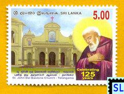 Sri Lanka Stamps 2006, St. John Dal Bastone Church Talangama, MNH