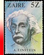 Zaire 1016** 5Z Einstein  MNH - 1980-89: Neufs