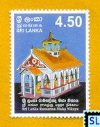 Sri Lanka Stamps 2006, Ramanna Maha Nikaya, Buddha, Buddhism, MNH