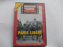 DVD - REPORTAGES DE GUERRE 1939-1945 PARIS LIBERE De La Marche Alliée à La Victoire Finale - Documentary