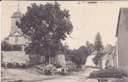 Cpa-70-voray-animée- Rue Basse-36 - Otros Municipios