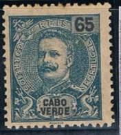 Cabo Verde, 1903, # 80, MH - Isola Di Capo Verde