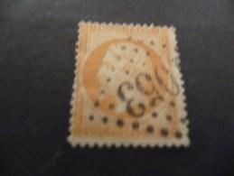 TIMBRE  DE  FRANCE     N  37  OBLITERE   1870   COTE  10  EUROS