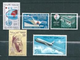 PA Du Maroc   De 1964/66  N°111 A 115  Neufs ** - Maroc (1956-...)