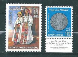 PA Du Maroc   De 1969  N°116 Et 117  Neufs ** - Maroc (1956-...)