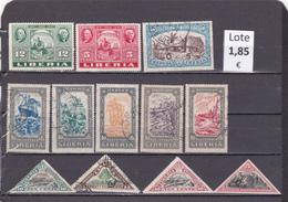 Liberia  -  Lote  12  Sellos Diferentes  -  10/8148