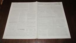 CORNEBARRIEU - ANNONCE -  A VENDRE , QUARTIER DE GASTEFER  - JOURNAL DE TOULOUSE DE 1840. - Newspapers