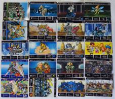 SD Gundam Gaiden Seikihei Monogatari III : 20 Japanese Trading Cards - Trading Cards