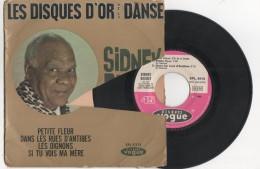 DISQUE D OR DE LA DANSE VINYLE 45 TOURS SIDNEY BECHET  PETITE FLEUR  RUE D ANTIBES OIGNONS  VOGUE 1959 POCHETTE Abimée - Jazz