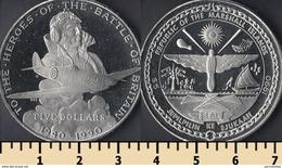 Marshall Islands 5 Dollars 1990 - Marshall Islands