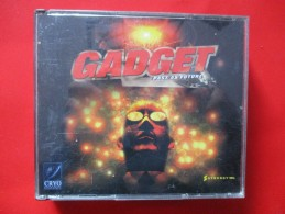 JEU PC GADGET PAST AS FUTURE 4CD +LIVRET - Jeux PC