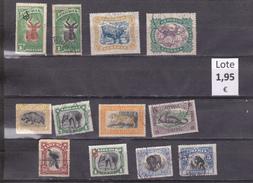 Liberia  -  Loie  12  Sellos Diferentes Fauna -  10/8163
