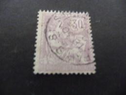 TIMBRE  DE  FRANCE     N  128  OBLITERE   TYPE  MOUCHON  1902   COTE  20,00  EUROS