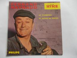 45T - Fernand Raynaud Le Plombier Le Repas De Noces - Humour, Cabaret
