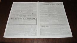 CORNEBARRIEU - MORT DU NOMME GUITTARD , DE CORNABARRIEU  - JOURNAL DE TOULOUSE DE 1847. - Newspapers