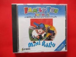 JEU PC Family Fun Sofware Mini Rally (cd+livret ) - Jeux PC