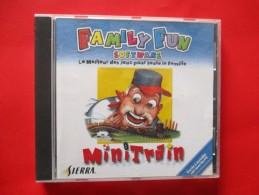 JEU PC Family Fun Sofware Mini Train (cd+livret ) - Jeux PC