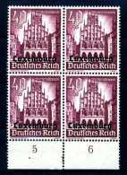 Z27628)Luxemburg 41 VB Mit Platten-Nr. 1**