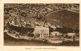 - Dpts Div.-ref-LL394- Monaco - Monte Carlo - Musee Oceanographique - Cliche De La Compagnie Aerienne Française - - Musée Océanographique